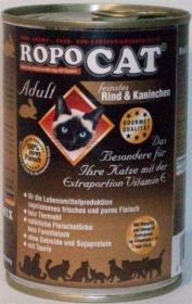 Ropomix Ropocat Adult feinstes Rind & Kaninchen