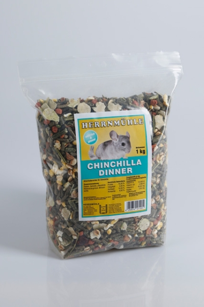 Chinchilla Dinner 1 Kg Pack