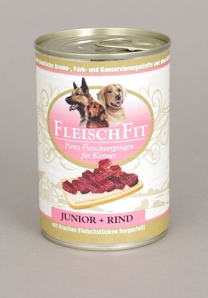 FleischFit Junior + Rind